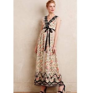 Anthropologie Vineet Bahl Glasshouse Maxi Dress
